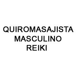 Quiromasajista Masculino Reiki