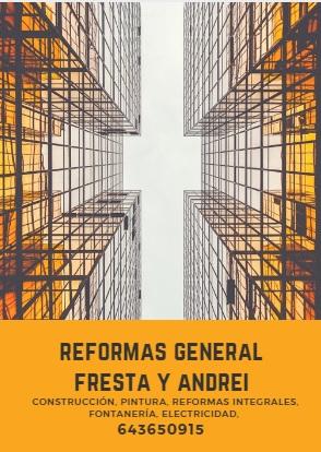 Reformas General Fresta y Andrei