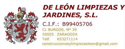De León Limpiezas y Jardines