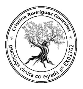 Cristina Rodríguez, Psicóloga Clínica