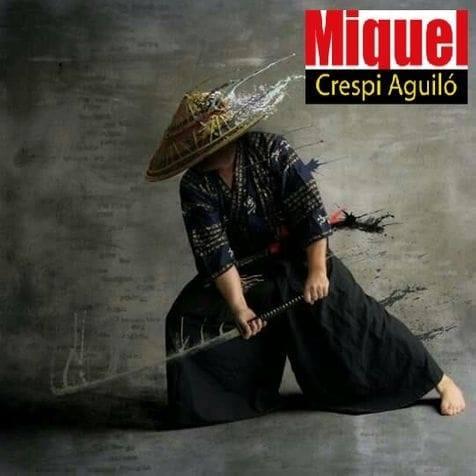 Maestro Jiu-Jitsu Miquel Crespi