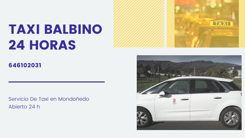 Taxi Balbino 24 Horas