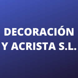 Decoración y Acrista S.L.