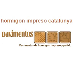 Hormigón impreso Catalunya