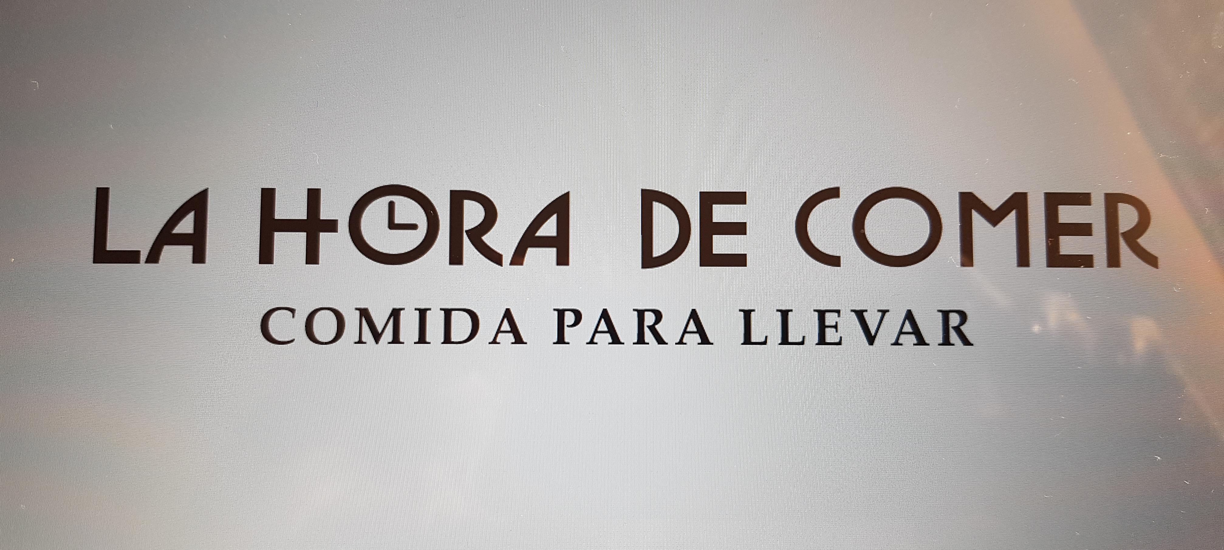 LA HORA DE COMER