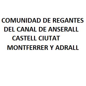 Com. Reg. Canal De Anserall Castell Ciutat Montferrer Y Adral