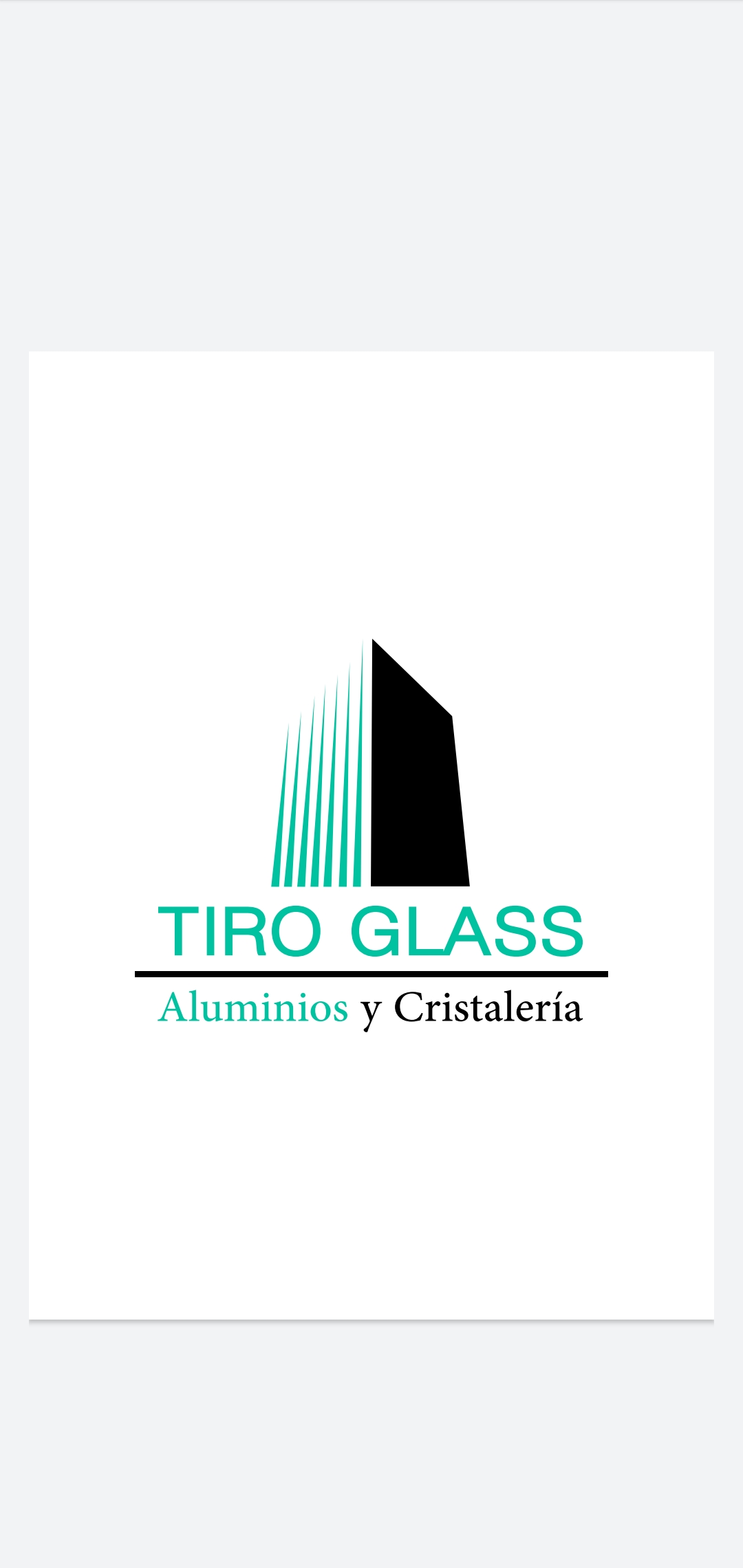 Cristalería Tiroglass