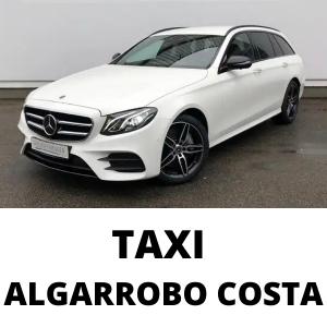 Taxi Algarrobo Costa