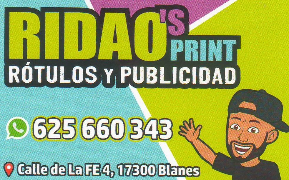 RIDAO'S PRINT Rótulos Y Publicidad
