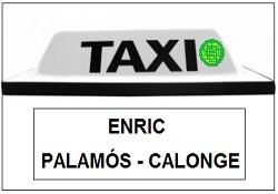 Taxi Enric Palamós - Calonge