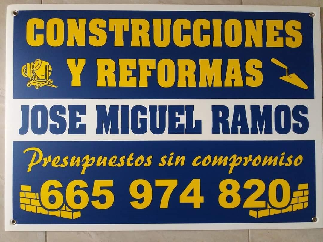 Construcciones y Reformas Jose Miguel Ramos