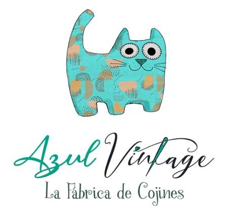 Azul Vintage La Fábrica de Cojines