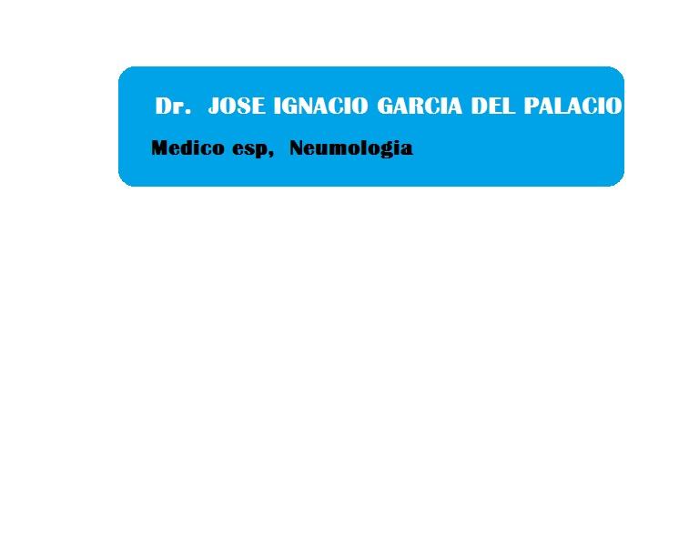 José Ignacio García del Palacio- Médico especialista Neumología