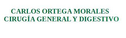 Ortega Morales, Carlos Cirugía General y del Aparato digestivo