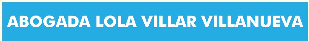 Abogada Lola Villar Villanueva