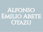 Alfonso  Emilio Abete Otazu - Abogado