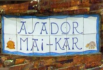 Asador May-kar