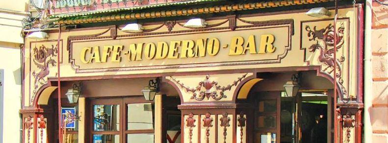 Café Moderno COCINA TRADICIONAL