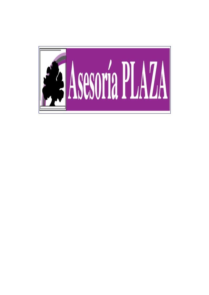 Asesoría Plaza