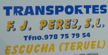 Transportes F y J Perez