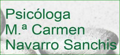 María Carmen Navarro Sanchís - Psicóloga