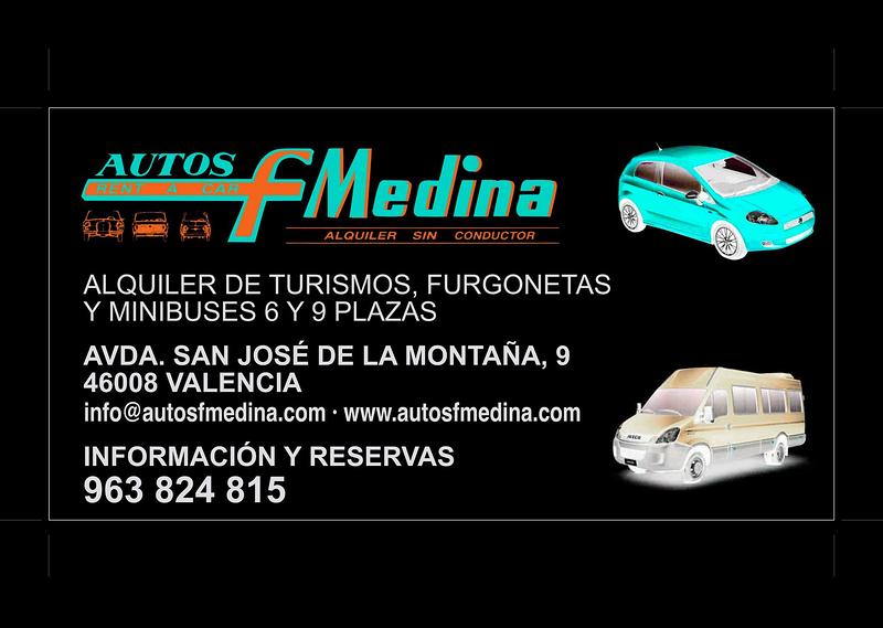 Alquiler de Vehículos Autos F. Medina AUTOMOVILES: ALQUILER