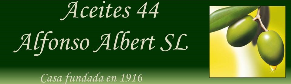 Aceites 44 Alfonso Albert S.L.