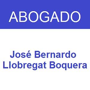Abogado José Bernardo Llobregat Boquera
