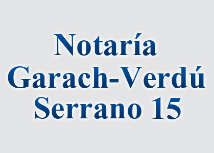 Notaría Garach - Verdú
