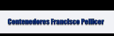 Contenedores Francisco Pellicer