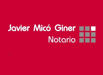 Javier Mico Giner Notaría