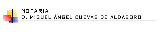 Imagen de Notaría de Miguel Ángel Cuevas de Aldasoro