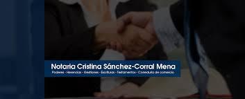 Imagen de Notaría de Cristina Sánchez-Corral Mena