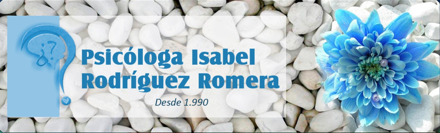 Psicóloga Isabel Rodríguez Romera