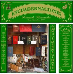Imagen de Encuadernaciones Fernando Hernández