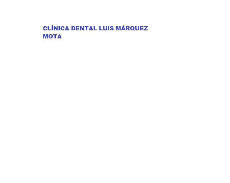 Clínica Dental Luis Márquez Mota