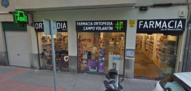 Farmacia Ortopedia Campo Volantín Bilbao