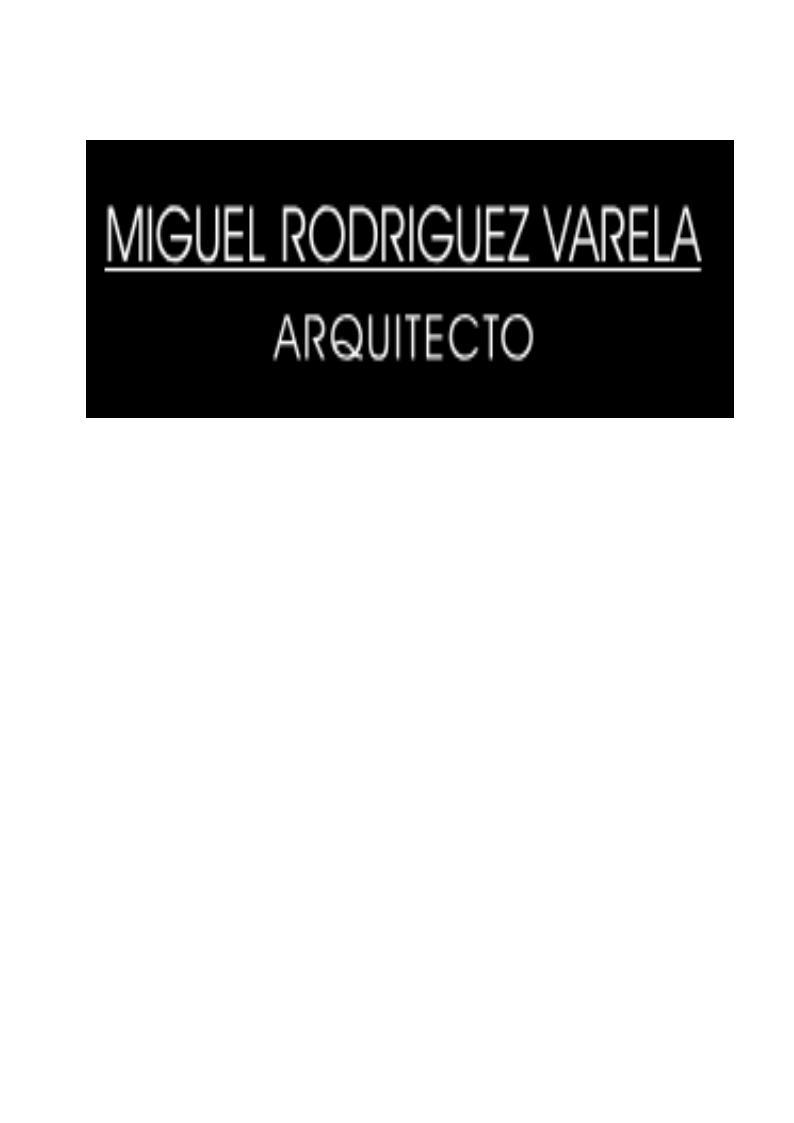 Miguel Rodríguez Varela Arquitecto