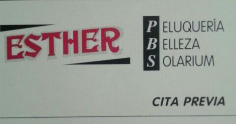 Peluquería Esther