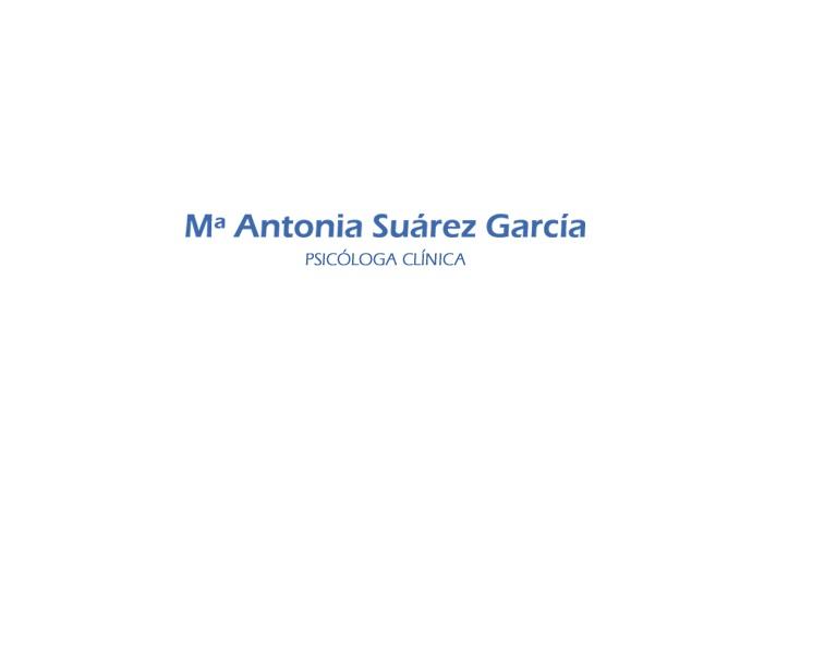 Antonia Suárez García