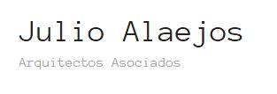 Alaejos, Julio - Arquitectos Y Asociados