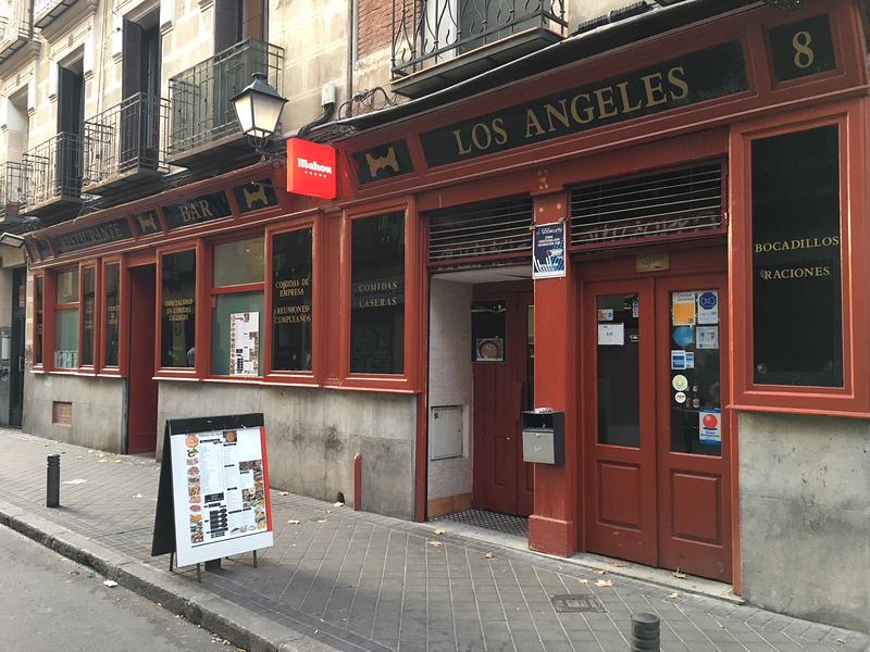 Restaurante Los Ángeles Madrid