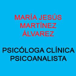 María Jesús Martínez Álvarez Especialista en Psicología Clínica