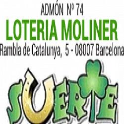 Lotería Moliner Admon. 74