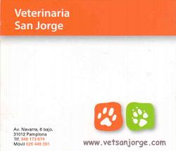 Consulta Veterinaria San Jorge