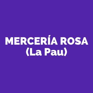 Mercería Rosa (La Pau)