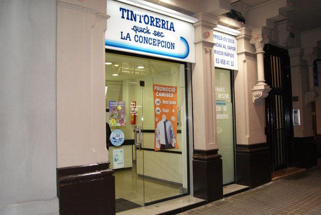 Tintorería La Concepción Barcelona
