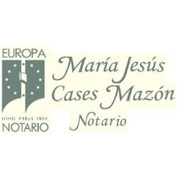 NOTARÍA MARÍA JESÚS CASES MAZÓN