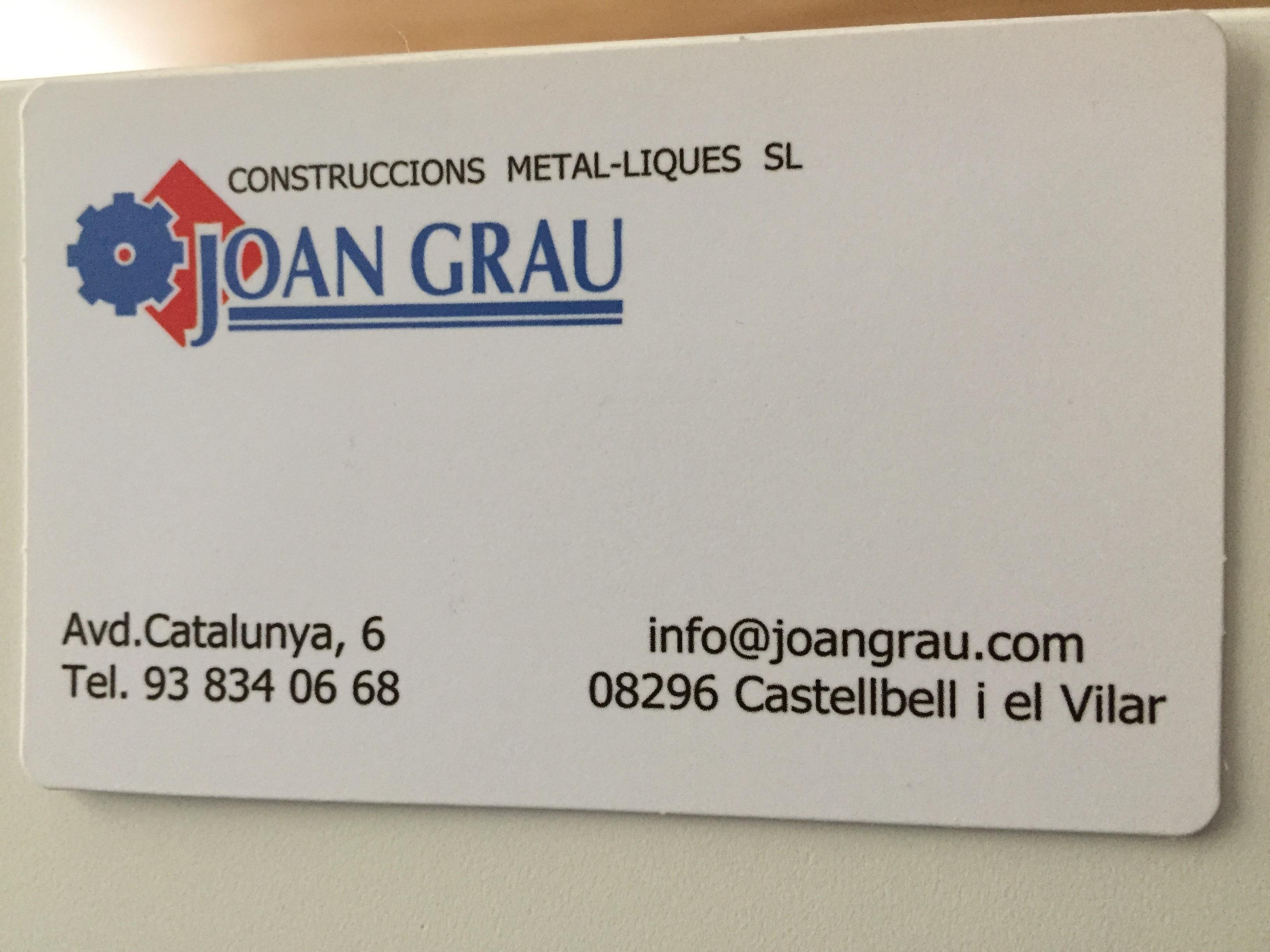 Construccions Metal.liques Joan Grau