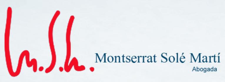 MONTSERRAT SOLE MARTI ABOGADA. Abogados | abogado divorcio
